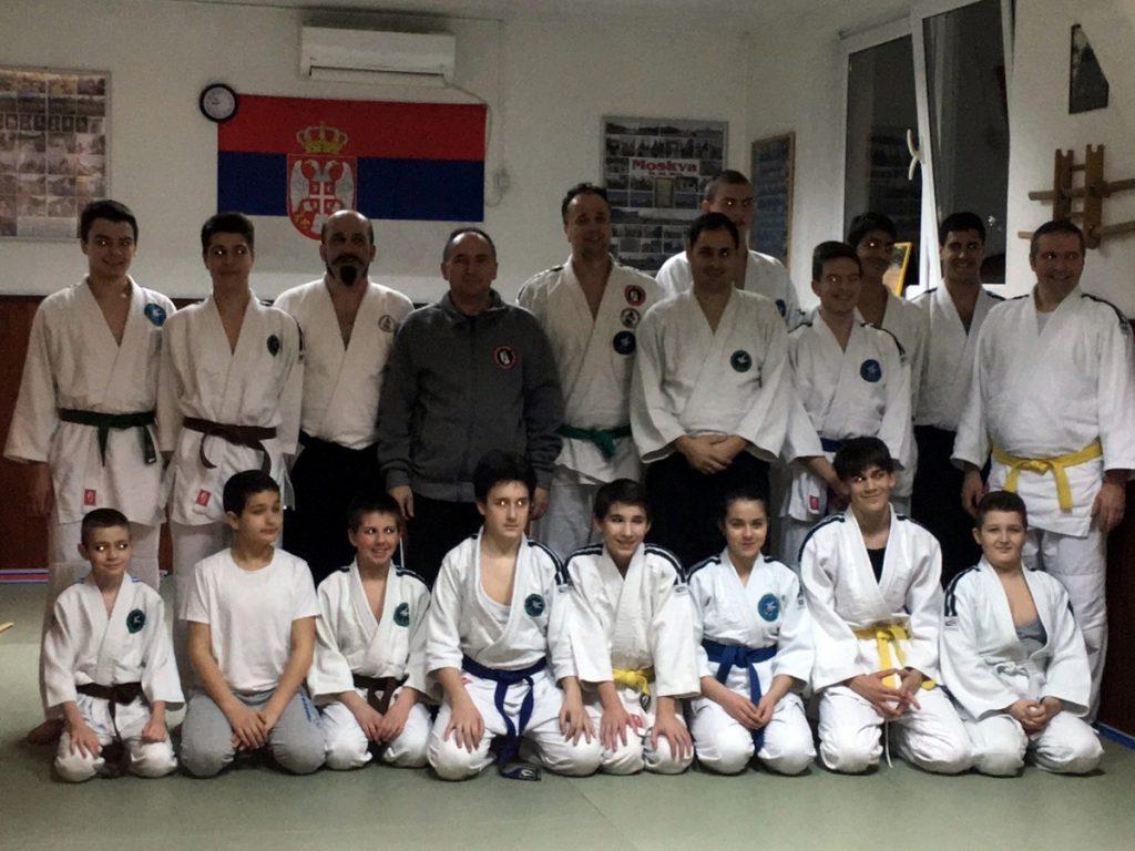 Aikido klub Zemun - polaganje starija deca
